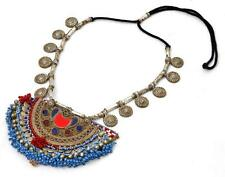 TRIBAL BANJARA KUCHI PENDANTS RARE BELLY DANCE VINTAGE GYPSY NECKLACE