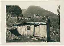 Norvège, Hellesylt. Maison rustique dans la Vallée du Norong  vintage silver pri
