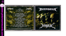 CD DISFORIA / EBOLA SPLIT 2013 MEAT GRINDER RECORDS ITALY