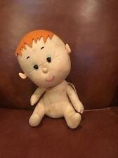 VINTAGE ~ LENCI TORINO ~ FELT ANGEL BOY with WINGS, ORIGINAL EARLY PLUSH DOLL !!