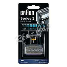 NEW BRAUN Series 3 31S Replacement FOIL & CUTTER  PACK Cassette Shaver Razor