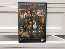**TNA Wrestling 50 Greatest Moments DVD 2006 - Free Shipping!