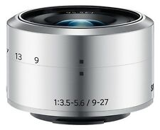 SAMSUNG NX 9-27mm f/3.5-5.6 ED OIS Lens silver for NX Mini