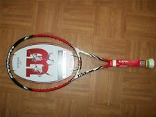 New 2015 Wilson BLX Steam 99S 16x15 pattern 99 head 4 1/8 grip Tennis Racquet