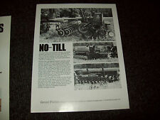 GREAT PLAINS SOLID STAND DRILLS BROCHURE AD LITERATURE LOT