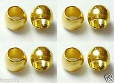 500 x 2mm Gold Plated Crimp Beads - Spacer Beads - Gold Crimps SP57