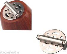 Pfeifendeckel mit Feder / 25 mm