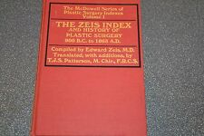 The Zeis index and history of plastic surgery Volume 1