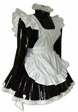 Louisa PVC Locking Sissy Uniform MAID 4U