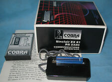 Sinclair ZX81 RS232C Communications Interface by Cobra. Timex 1000.