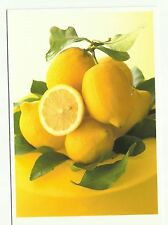 Lemons postcard, advertising card for Anthony Blake Photo Library