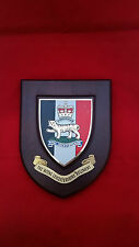 THE ROYAL LEICESTERSHIRE REGIMENT British Army Oak Plaque Shield Crest