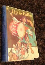 LITTLE FOLKS VOL 98 1923 Rare Childrens Annual Book antique