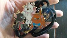 Disney Aristocats Bolo Lanyard/ ID Holder Marie Toulouse Berlioz Pin
