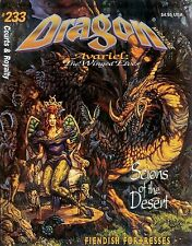 TSR AD&D Dungeons & Dragon Magazine #233 Winged Elves Magic Armor!