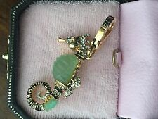VERY RARE! BRAND NEW JUICY COUTURE SEAHORSE BRACELET CHARM IN TAGGED BOX