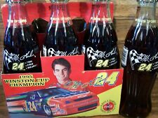 1995,  Jeff  Gordon   #  24, WINSTON  CUP  CHAMPION,  6 - 8  Oz Coke Bottles