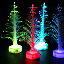 Xmas Tree Design Color Changing LED Light Lamp Ornament Party Decoration Gift