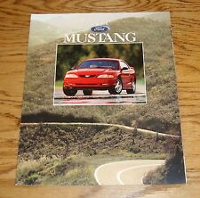 Original 1996 Ford Mustang Sales Brochure 96 GT