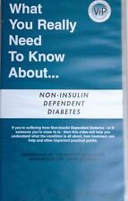 Diabete non insulino dependendent Medical video NO RISERVA GRATIS P&P