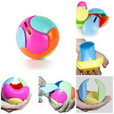 Puzzle Box for Kids Coin Piggy Bank Money Puzzle Ball Piggy Bank Toy For Gift DS