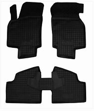 OPEL ASTRA H 2004-2014 Rubber Car Floor Mats All Weather Alfombras Goma Carmats