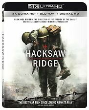 HACKSAW RIDGE (4K ULTRA HD) - Blu Ray - Region free