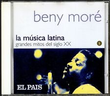 BENNY MORE - SPAIN CD Manzana 2000 - La Musica Latina - Mitos Siglo XX Nº 5