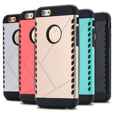 "Slim armor shell case cover hard protective for Iphone 6 6s 4.7 5.5"" inch plus"