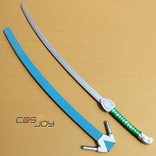"Cosjoy 51"" Blazblue JIN=KISARAGI Katana Sword with Sheath PVC Cosplay Prop-0250"