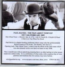 (BR436) Paul Davies, The Man About Town EP - DJ CD