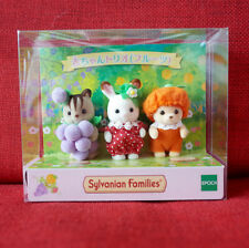 Sylvanian Families FRUITS TRIO Epoch Japan Limited Calico Critters