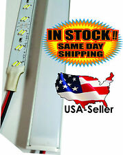 "40"" 1m 12V 144 LED 2835 Aluminum Strip Super Bright Under Cabinet Lights 28.8W"