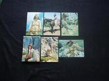 Karl May - Winnetou - Postkarte E 1 - E 35 Filmbild: Winnetou 1   Ansichtskarten