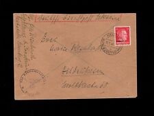 WWII Germany Ukraine Occupation Dienstpost 1944 Area Governor Handstamp Cover 6q