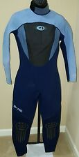 WOMEN'S BARE VELOCITY HYDROSTRETCH 3/2MM FULL WETSUIT. SIZE 14