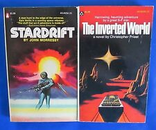 LOT of 2 Science Fiction Paperbacks F24 Christopher Priest John Morressy FN+