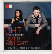 (GU322) DHT ft Edmee, Listen To Your Heart - DJ CD