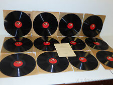KREISLER & RUPP Beethoven Violin Society LOT OF(12) Sonata No.1-3,6 &8 HMV 78rpm