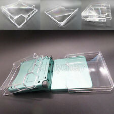 Clear Plastic Hard Case Cover Protector For Nintendo GBA Game Boy Advance SP