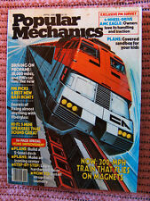 Popular Mechanics April '80 propane driving, fixing fiberglass, 2-level deck