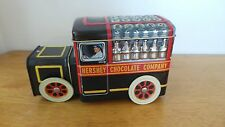 Hershey's Vehicle Series Canister/Container #1 Tin/Metal Delivery Milk Truck