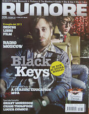 RUMORE 239 2011 Black Keys Radio Moscow Classic Education M+A Cocteau Twins Bats