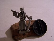 40k Imperial Guard Female Commissar Limited Edition Gamesday metal OOP