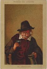 IMAGE/MUSEE DU LOUVRE-HACHETTE-UN BUVEUR - N°375- Adrian Van OSTADE-POT ETAIN
