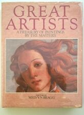 GREAT ARTISTS:  Paintings by the Masters by Melvyn Bragg  Boticelli Cover- High