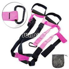 Suspension Trainer Straps/Band Home Gym RESISTANCE TRAINING YOGA MMA Workout