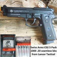 NEW LICENSED TAURUS PT99 FULLY/SEMI AUTOMATIC AIRSOFT GUN WITH 1000BB AND 5 C02S