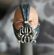 Custom Tom Hardy 1/6 Head Sculpt for Hot Toys The Dark Knight Rises Bane Body