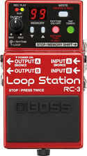Boss Rc-3 Loop Station Guitarra Looper Pedal De Efecto sustituye Boss Rc-2 - Nuevo
